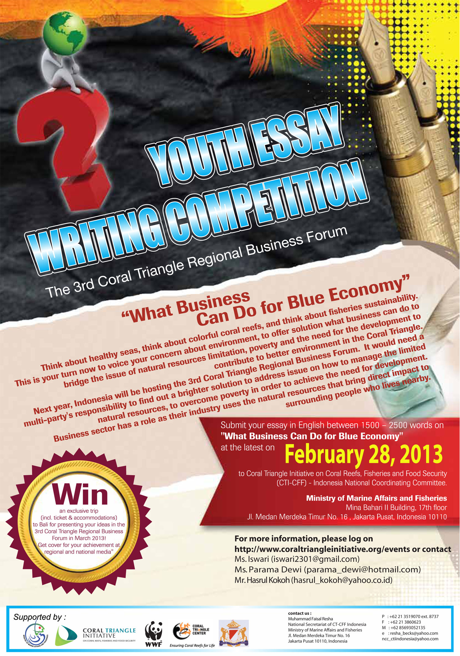 foreign affairs essay contest 2012