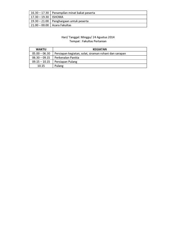 rundown acara PMB Fakultas Pertanian-2 copy