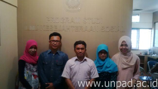 Kelima mahasiswa Unpad yang berangkat ke Jepang mengikuti program Jenesys 2.0 *