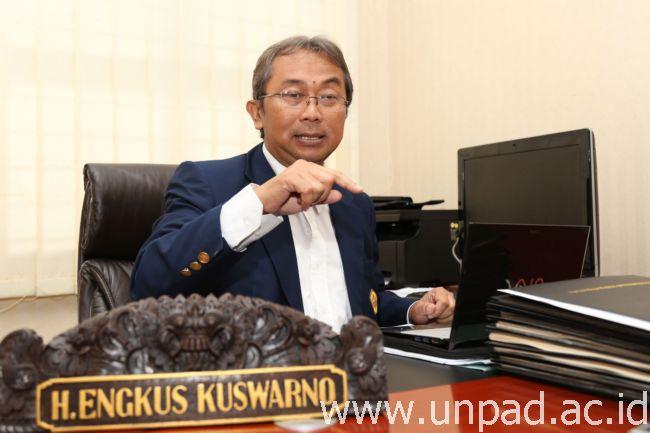 Wakil Rektor Bidang Pembelajaran dan Kemahasiswaan Unpad, Prof. Dr. Engkus Kuswarno, M.S. (Foto oleh: Dadan T.)*