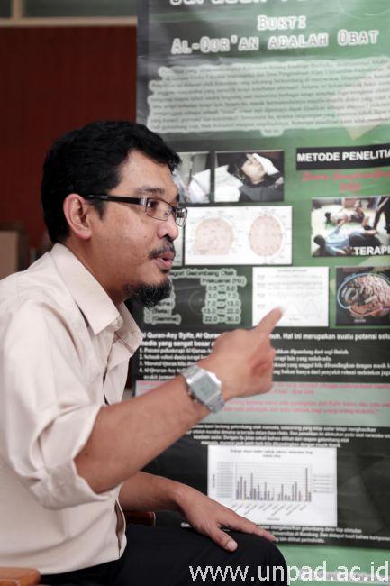 Dr. Andri Abdurochman, S.Si., M.T. (Foto oleh: Dadan T.)*