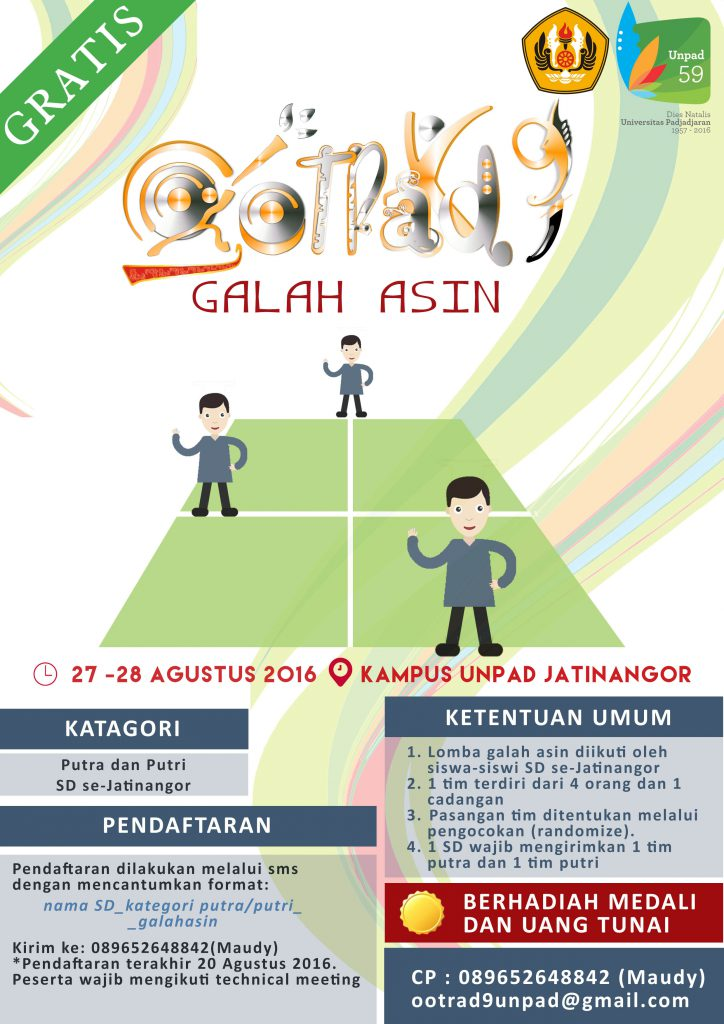 Poster Galah Asin