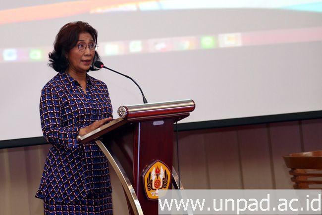 Beri Kuliah Umum, Susi Pudjiastuti Jelaskan Upaya Mengembalikan Kedaulatan Perairan Indonesia