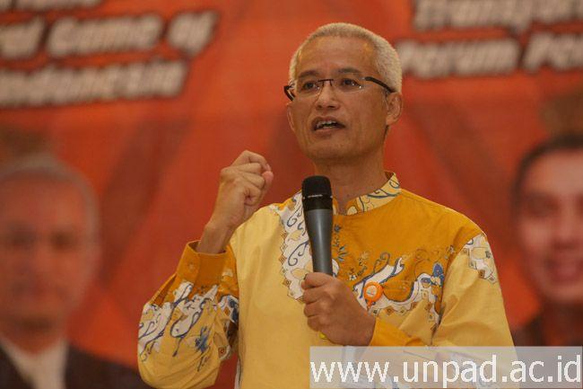 Kuliah Umum Direktur Utama PT. Pos Indonesia (Persero)